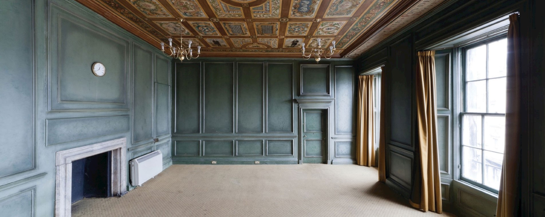 The Geddes Room Pre-restoration